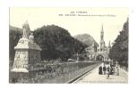 Cp, 65, Lourdes, Monument Du Sacré-Coeur Et La Basilique - Lourdes