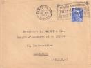 Lettre N° 187 - En Toute Circonstantes Dites Le Avec Des Fleurs - Marcophilie (Lettres)