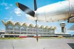 OTOPENI AIRPORT, BUCHAREST, CPI, 1972, USED, ROMANIA - Avions