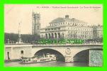 PARIS (75) - THÉÂTRE SARAH BERNHARDT - LA TOUR ST-JACQUES - CIRCULÉE EN 1904 - DOS NON DIVISÉ - - Other Monuments