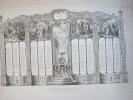 Grand Calendrier ( 45 X 61,5 Cm)/ Gravure Artistique/A. BUVELOT/ Paris/STERN Graveur/1905   CAL55 - Kalender