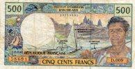 - Billet De 500 Francs Institut D'émission D'outre-mer - 189 - Billets