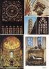 LOT De 100 CPM, CPSM, CPA  Françaises  Sur Les VITRAUX D'Eglises Et Cathédrales  //  TBE - Cartes Postales