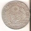 MONEDA DE PLATA DE PERU DE 4 REALES DEL AÑO 1836 LIMA  (COIN) SILVER,ARGENT. - Pérou