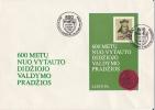 Lithuania - 1993 - FDC, Souvenir Sheet, Grand Duke Vytautas, Vilnius, 27-2-93 - Storia