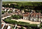 CPSM   OZOUER LE VOULGIS  La Mairie Et Un Coin Du Village - Other Municipalities