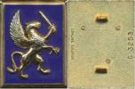 Insigne 12° Division Légère Blindée, Griffon à Droite & - Armée De Terre