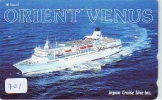 Télécarte JAPON * BATEAU * PHONECARD JAPAN * SHIP (701) TELEFONKARTE SCHIFF * Schip - Boot - Barco - - Barche