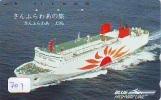 Télécarte JAPON * BATEAU * PHONECARD JAPAN * SHIP (707) TELEFONKARTE SCHIFF * Schip - Boot - Barco - - Barche