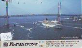 Télécarte JAPON * BATEAU * PHONECARD JAPAN * SHIP (730) TELEFONKARTE SCHIFF * Schip - Boot - Barco - - Boten