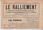 N° 6 18 Juillet 1942 - Le Ralliement Des Paroisses Nationales D'Auvernier, Bevaix, Bôle, Colombier... - Journaux - Quotidiens