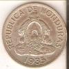 MONEDA DE PLATA DE HONDURAS DE 1 LEMPIRA DEL AÑO 1935 (COIN) SILVER,ARGENT. - Honduras