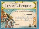 CADERNETA Completa Jornal O SECULO C/90 LENDAS De PORTUGAL. Vintage Album Newspaper. Anuncios / Advertisings / Publicité