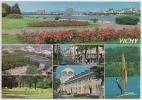 03.03 - VICHY - Multivues (Vue Générale, Planche à Voile, Golf, Parc...) - Animée - Circulée 1992 - Scan Recto-verso - Vichy