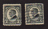 B446 USA 1923 ( 2 Stamps ) ( Sc# 610,610)  MH & CH - United States