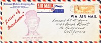 U.S.  NATIONAL AIR MAIL WEEK  UNIVERSAL PICTURE  MOVIE  CO. - Air Mail