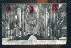 CPSM Non écrite BOURGES  Intérieur De La Cathédrale , La Grande Nef - Bourges