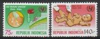 Mgm1254 UNICEF 40 JAAR KINDERFONDS CARE FOR CHILDREN 40 YEARS UNICEF INDONESIA 1986 PF/MNH  VANAF1EURO - UNICEF