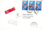 LRI 1919x3 Etiquette Manique Paris 37 Au  Dos Suresnes - 1961-....