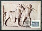 """Allemagne 1984 Mi. Nr.1218 Maximumcart """"Grabstele Des Oclatius-Rossknecht Mit Pferd-,2000 Jahre Neuss"""" 1 MC Used - Archéologie"""