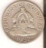 MONEDA DE PLATA DE HONDURAS DE 50 CENTAVOS DEL AÑO 1932  (COIN) SILVER,ARGENT. - Honduras