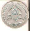 MONEDA DE PLATA DE HONDURAS DE 50 CENTAVOS DEL AÑO 1937  (COIN) SILVER,ARGENT. - Honduras