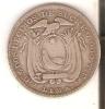 MONEDA DE PLATA DE 2 DÉCIMOS DE SUCRE DEL AÑO 1895 -LIMA- (COIN) SILVER,ARGENT. - Ecuador