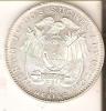 MONEDA DE PLATA  DE DOS SUCRES DEL AÑO 1944  (COIN) SILVER,ARGENT. - Ecuador