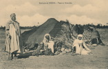 AFRIQUE - ALGERIE -  Environs De BISKRA - Tente Et Nomades - Algeria