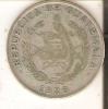 MONEDA DE PLATA DE GUATEMALA DE 1/4 DE QUETZAL DEL AÑO 1926  (COIN) SILVER,ARGENT. - Guatemala