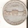 MONEDA DE PLATA DE GUATEMALA DE 1/4 DE QUETZAL DEL AÑO 1943  (COIN) SILVER,ARGENT. - Guatemala