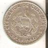 MONEDA DE PLATA DE GUATEMALA DE 25 CENTAVOS DEL AÑO 1960  (COIN) SILVER,ARGENT. - Guatemala