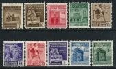 ITALIA - R.S.I. 1944/45 - Monumenti Distrutti - N.° 502 / 11 Nuovi **/* Serie Compl. - Cat. 9 € - Lotto N. 1279 - 4. 1944-45 Social Republic