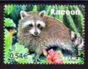 TIMBRE NOUVEAU FRANCE ANIMAUX RONGEURS RACOON - Roedores