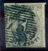 Belgique - No 10 Oblitéré D 73 (Liège), 4 Marges, Superbe, See Scan - 1858-1862 Medaillen (9/12)