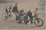 Nos Stayers Et Leurs Enrtraineurs - Cyclisme