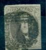 Belgique - No 10 A Oblitéré P 7 (Ath), 4 Marges, See Scan - 1858-1862 Medaillen (9/12)
