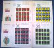 Liechtenstein 1972 Unif. 503/06 4 FDC Minifogli - FDC