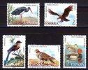 SERIE TIMBRES ESPAGNE NOUVEAUX 1973 OISEAUX FAUNE ESPAGNOLE - Pájaros