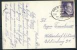 GG1942: BRESLAU-KRAKAU, Bahnpost-Fotokarte Marienkirche, Krakau - Besetzungen 1938-45