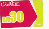 MALAYSIA - Maxis Prepaid Card RM30, Exp.date 11/11, Used - Malaysia