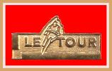 SUPER PIN´S Cyclisme : TOUR De FRANCE 91 Version Or Fabrication Starpin's (Non Marqué) - Cycling