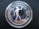 Winter Olyimpics In Sarajevo 500 Dinara 1984 ( PP- Silber 925-23 G) - Bosnië En Herzegovina