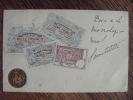 CPA.    Carte Postale Belge . Repréntation De Billets De Banques Et Pièce.  Rarissime. - Monnaies (représentations)