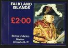 1977  Queen Elizabeth Silver Jubilee Booklet  MUH  ** - Falkland Islands