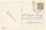 Postcard With DEURNE Postmark With 7 Dots (1 A)  Unusual? - Marcophilie