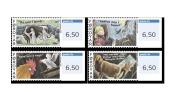 Faroe 2011 - Franking Labels Stamp Set Mnh - ATM - Frama (vignetten)