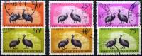 GUINEE: Oiseaux ( Yvert 63/68 Obliteré) Serie Complete. PINTADES - Gallinacées & Faisans