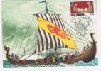 Viking  Normand  France  FDC - Veleros
