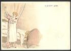 *** Art Nouveau - Journée D´une Jeune Fille - 4 - Le Petit Lever - Pub Au Dos *** - Autres Illustrateurs